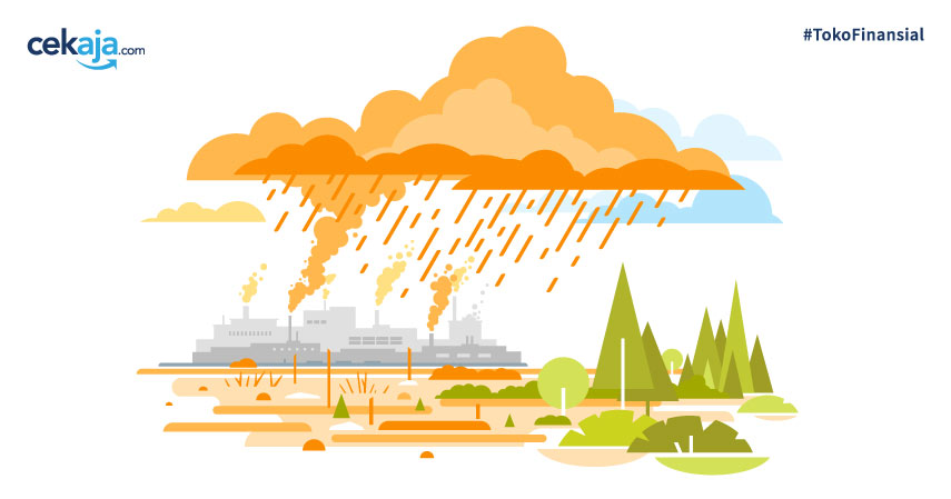 Mengenal Hujan Asam dari Proses, Penyebab, Dampak, dan Pencegahannya