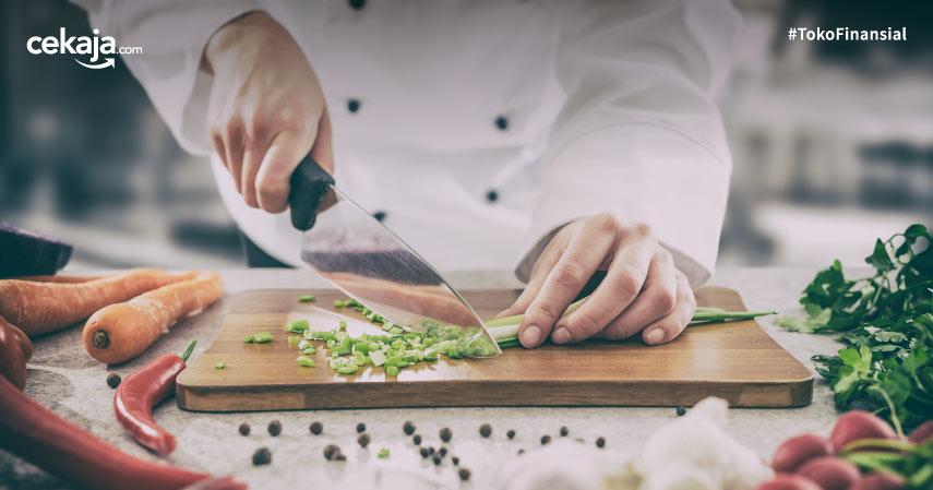 5 Pisau Chef Tajam yang Wajib Kamu Punya di Dapur