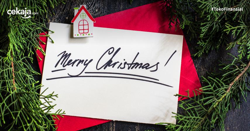 Ini dia Ide Ucapan Natal dan Cara Membuat Kartu Ucapan Natal Sendiri, Begini Caranya!