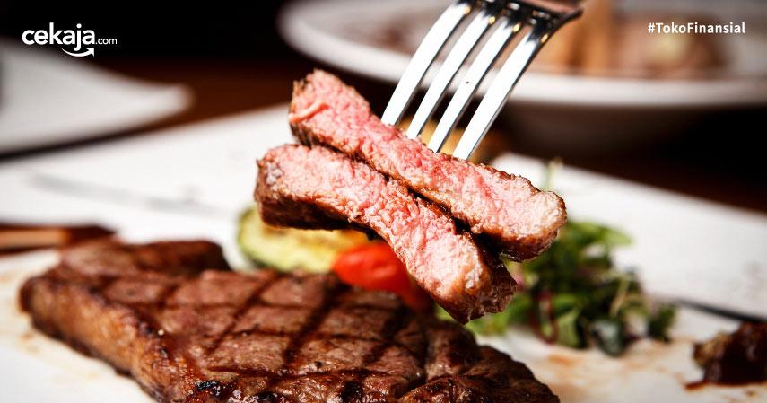 Resep Steak Daging Sapi ala Restoran yang Enak, Empuk, dan Mudah