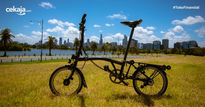 Mengenal Brompton, Sepeda Lipat Mahal yang Bikin Geger Indonesia