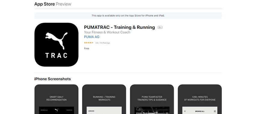 Pumatrac - Aplikasi Lari Terbaik untuk Smartphone, Olahraga Jadi Lebih Semangat