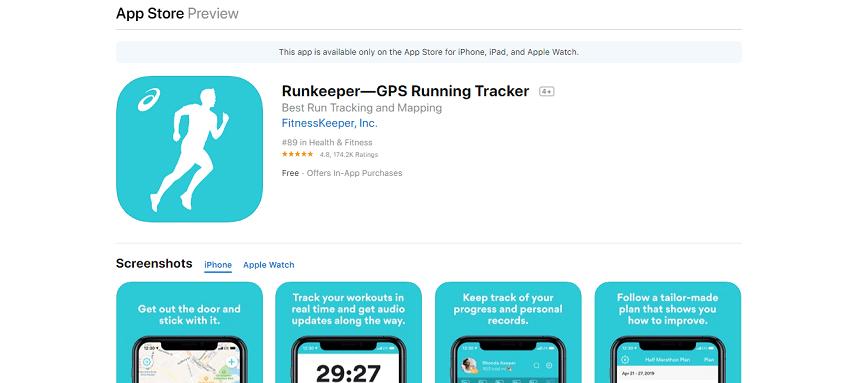 Runkeeper - Aplikasi Lari Terbaik untuk Smartphone, Olahraga Jadi Lebih Semangat