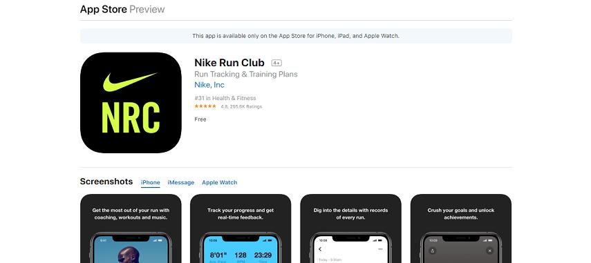 Nike Run Club - Aplikasi Lari Terbaik untuk Smartphone, Olahraga Jadi Lebih Semangat