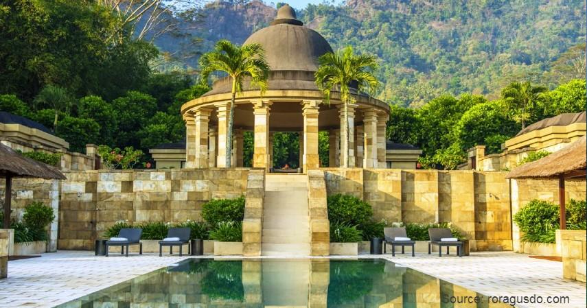 Amanjiwo Resort Borobudur - Daftar Nama Hotel di Indonesia dengan Kualitas Bintang Lima