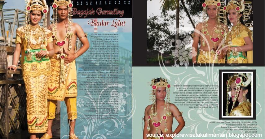 Bagajah Gamuling Baular Lulut - Kalimantan Selatan - 34 Pakaian Adat dari Berbagai Provinsi Terlengkap