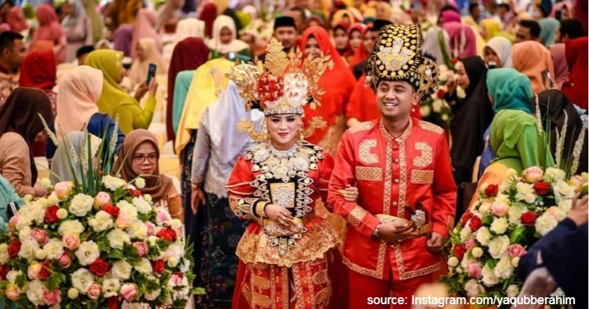 Biliu dan Makuta - Gorontalo - 34 Pakaian Adat dari Berbagai Provinsi Terlengkap