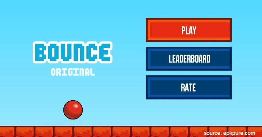 Bounce Original - Rekomendasi Game Offline Android Paling Seru Tahun 2020