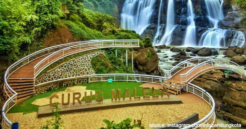 Curug Malela - 6 Lokasi Wisata Alternatif di Bandung untuk Liburan Tahun Baru