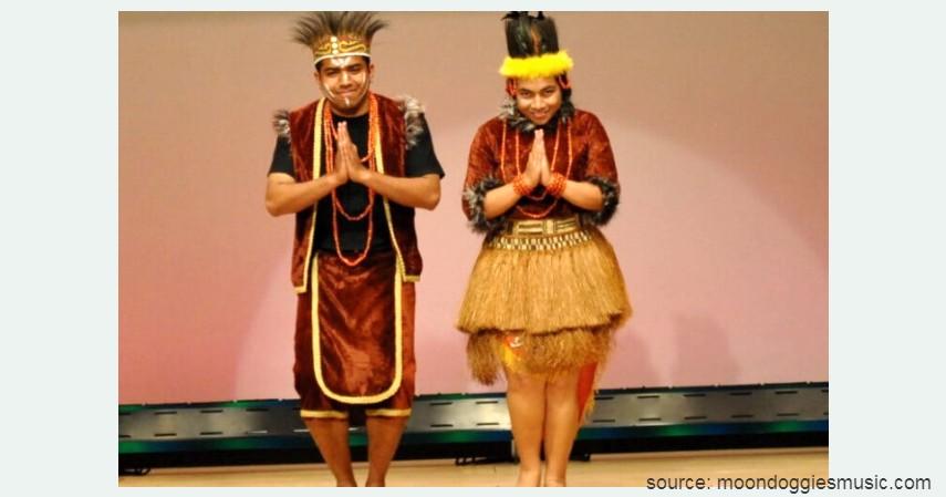 Ewer - Papua Barat - 34 Pakaian Adat dari Berbagai Provinsi Terlengkap