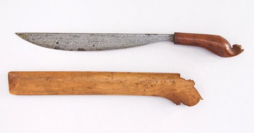 Golok Betawi - Bermacam Senjata Tradisional khas dari Berbagai Provinsi di Indonesia