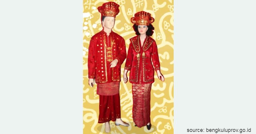 Melayu - Bengkulu - 34 Pakaian Adat dari Berbagai Provinsi Terlengkap