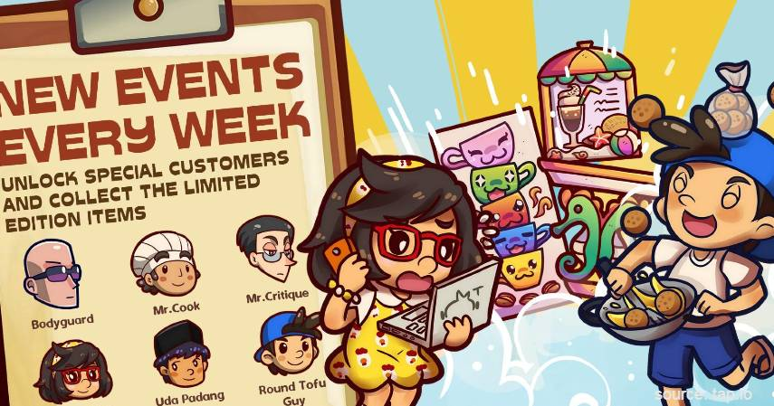 Own Coffee Shop - Rekomendasi Game Offline Android Paling Seru Tahun 2020