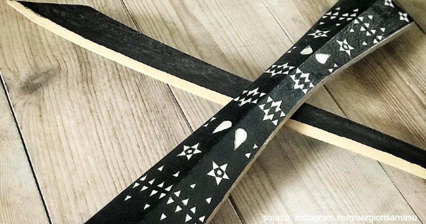 Parang Salawaku Maluku - Bermacam Senjata Tradisional khas dari Berbagai Provinsi di Indonesia