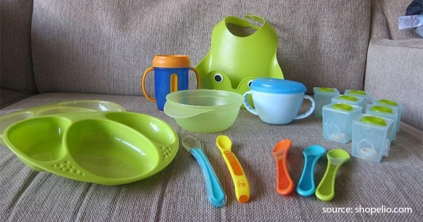 Peralatan makan bayi - Persiapan Kelahiran Anak Pertama 20 Jenis Barang yang Perlu Dibeli