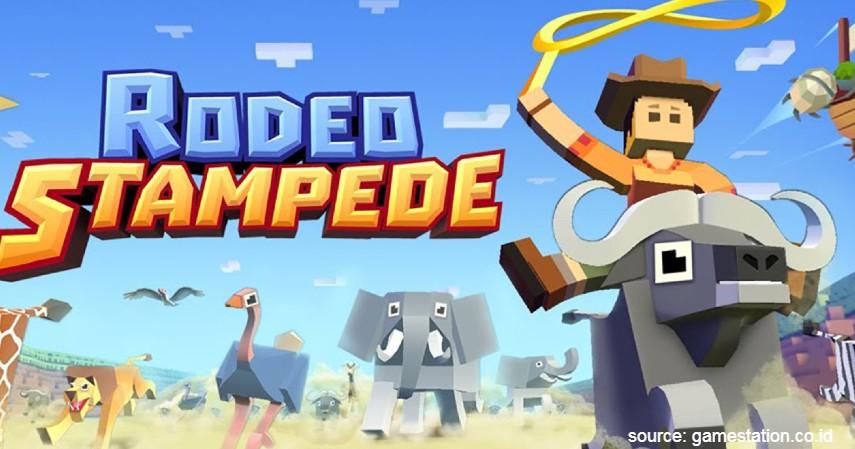 Rodeo Stampede - Rekomendasi Game Offline Android Paling Seru Tahun 2020