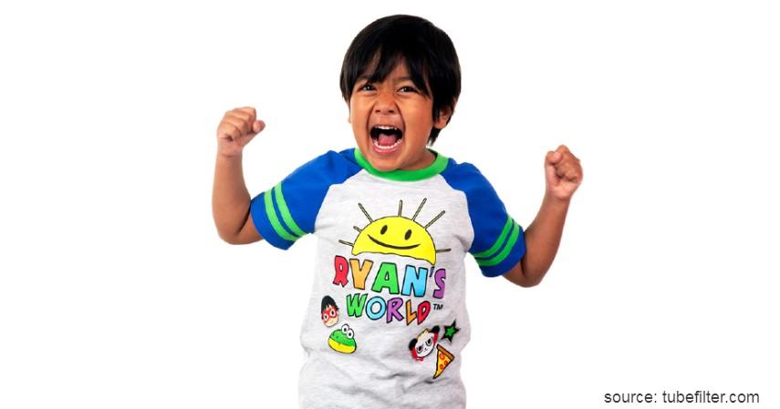 Ryan Kaji penghasilan USD26 juta - YouTuber dengan Bayaran Tertinggi 2019 Versi Forbes