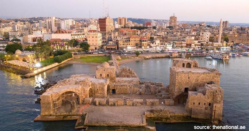 Sidon Lebanon - 10 Kota Tertua di Dunia yang Masih Eksis