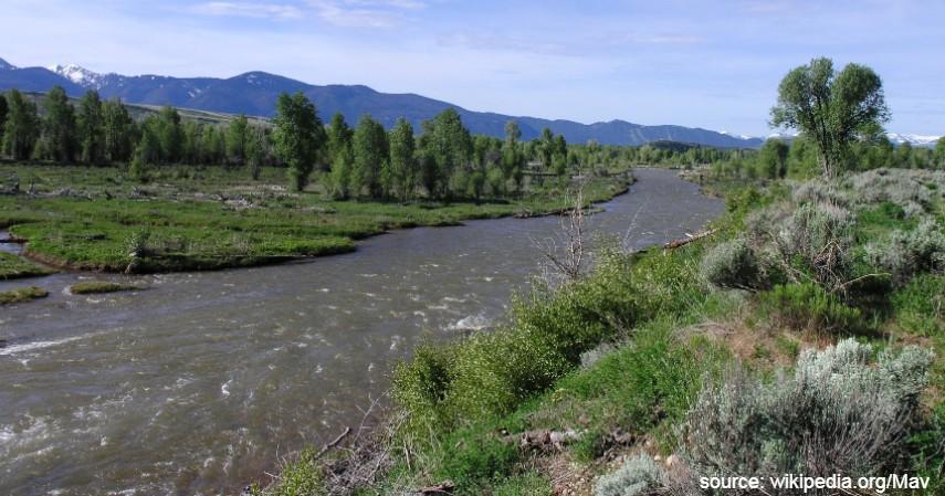 Sungai Gros Ventre Amerika Serikat - 7 Sungai Terbersih di Dunia Mana yang Jadi Favorit Wisatawan