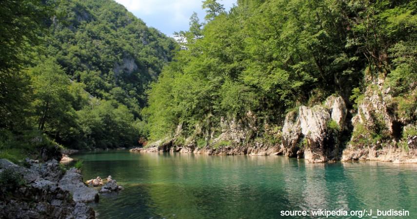Sungai Tara Eropa Selatan - 7 Sungai Terbersih di Dunia Mana yang Jadi Favorit Wisatawan