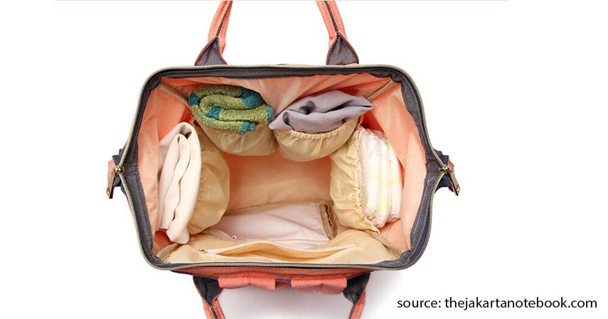 Tas Perlengkapan Bayi - Tempat tidur bayi - Persiapan Kelahiran Anak Pertama 20 Jenis Barang yang Perlu Dibeli