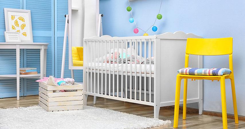 Tempat tidur bayi - Persiapan Kelahiran Anak Pertama 20 Jenis Barang yang Perlu Dibeli