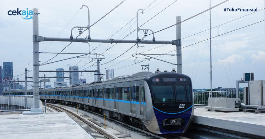 ruter dan tarif MRT Jakarta