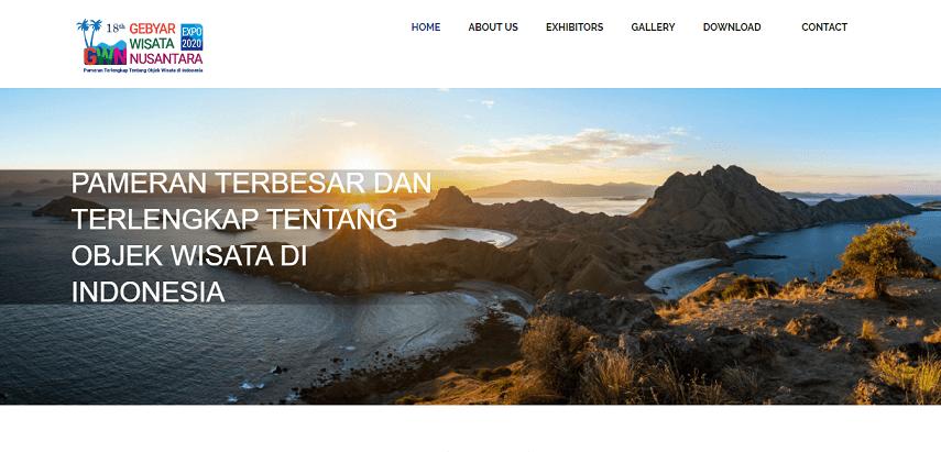 18th Gebyar Wisata Nusantara Expo - Jadwal Pameran 2020 di Jakarta yang Sayang untuk Dilewatkan