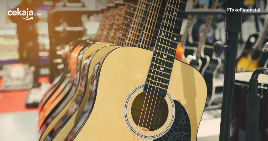 10 Brand Gitar Akustik Terbaik Untuk Profesional Maupun Pemula