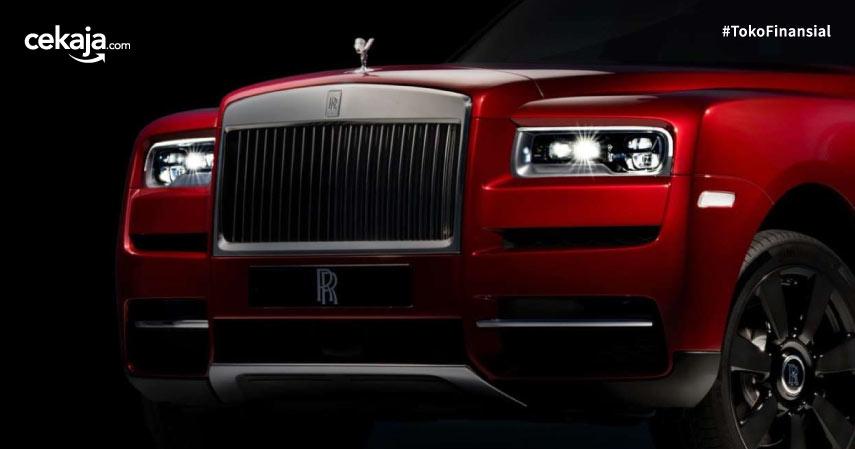 Ini Dia Cullinan, SUV Pertama Rolls-Royce yang Bikin Penjualan Melejit 25%