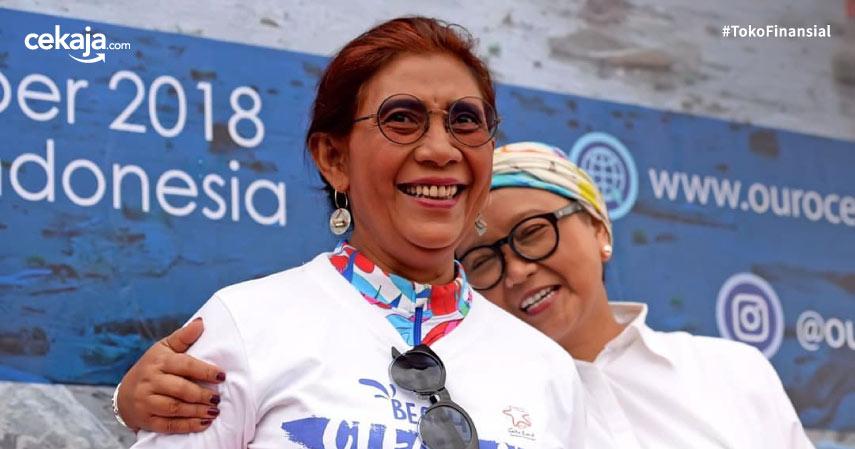 Susi Pudjiastuti dan Tokoh Indonesia yang Sukses Meski Putus Sekolah