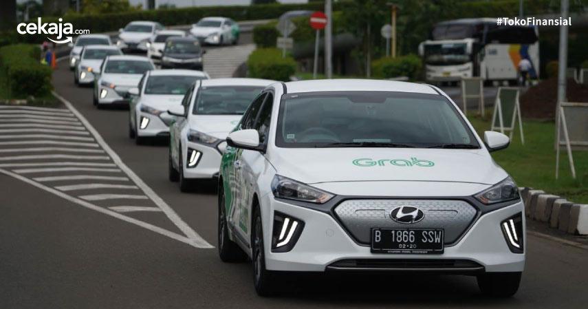 Mengintip Kecanggihan Hyundai IONIQ, Armada Baru GrabCar Listrik