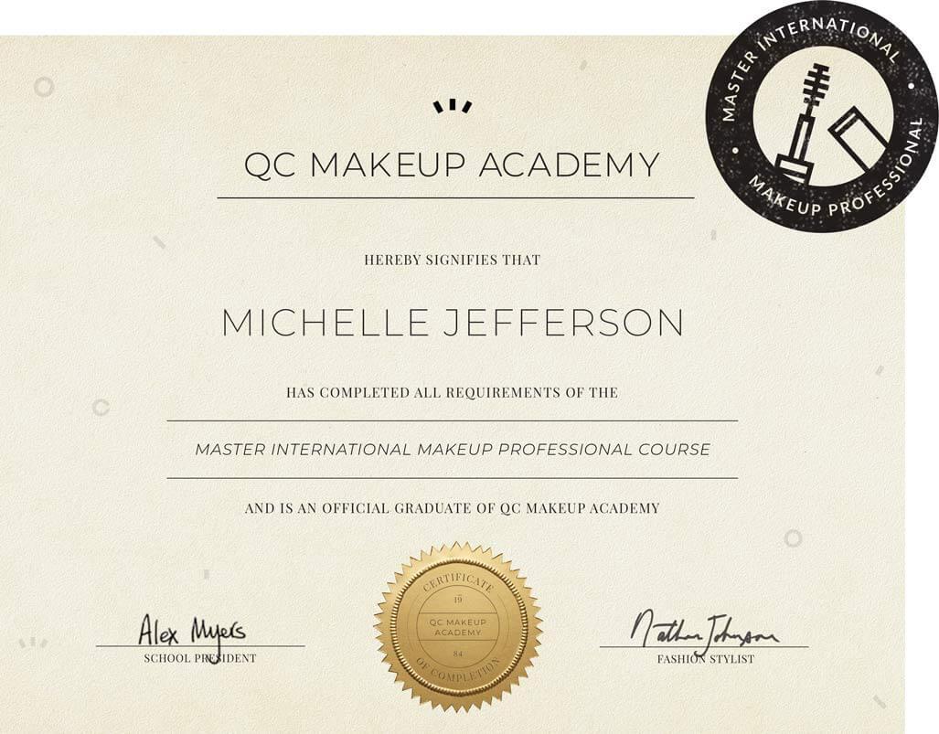 Memperoleh sertifikat profesional - Sebelum Merintis Karier Sebagai Makeup Artist, Perhatikan Dulu 6 Hal Ini