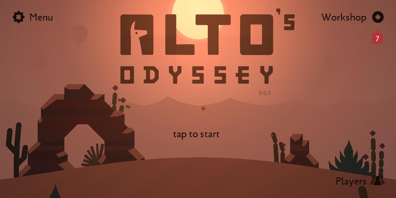Alto's Odyssey - Game Android Terbaik Tanpa Memerlukan Koneksi Internet