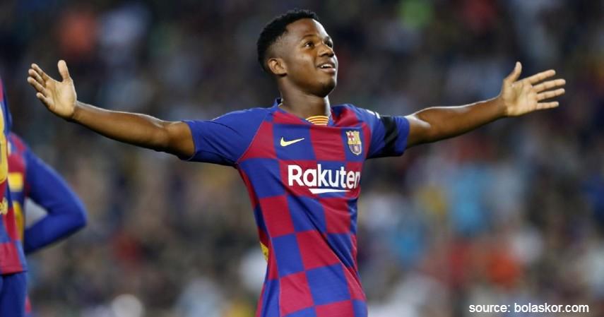Ansu Fati - 16 Tahun - Pemain Muda Terbaik di Liga Spanyol 2019 - 2020