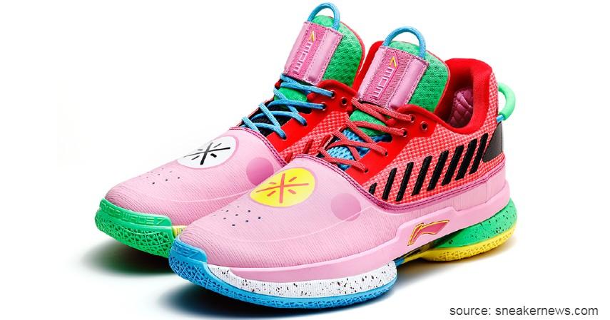 Basket Li-Ning Way of Wade (Dwayne Wade) - 7 Brand Sepatu Basket Pemain NBA Terpopuler yang Paling Dicari
