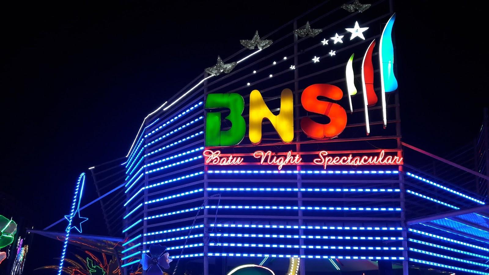 Batu Night Spectacular - Rekomendasi Wisata Batu Paling Favorit Wajib Dikunjungi Para Pelancong