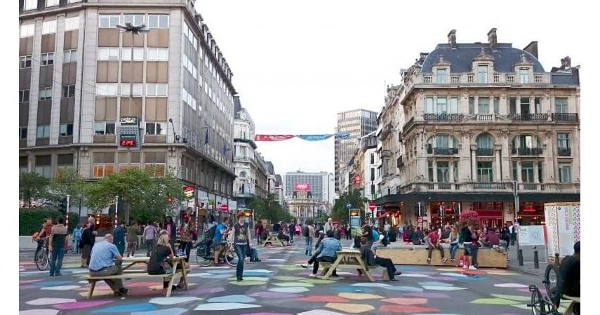 Brussel - 3 Negara Ini Sukses Ubah Kotanya Jadi Surga Pejalan Kaki