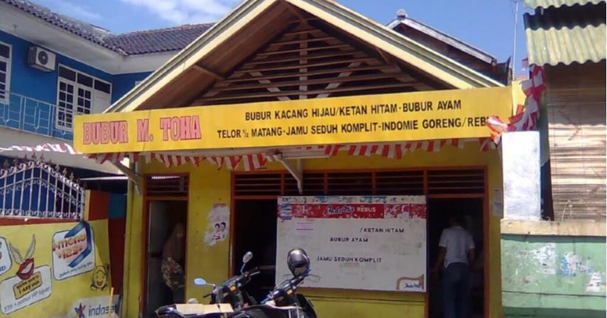 Bubur Toha - Deretan Wisata Kuliner Enak dan Murah Kota Cirebon Dijamin Ketagihan