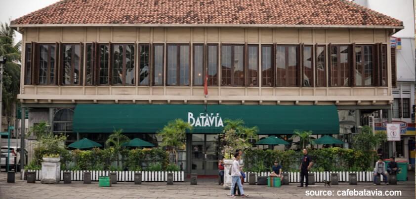 Cafe Batavia - Deretan Restoran Romantis untuk Dinner di Jakarta