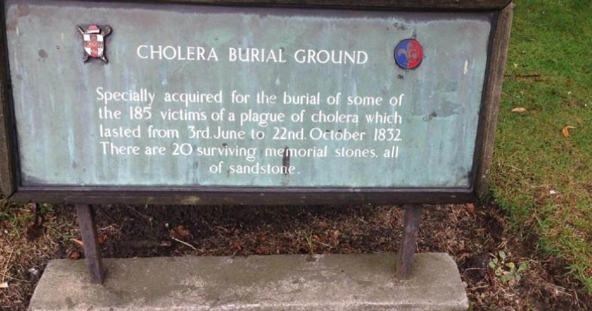 Cholera Burial Ground - Mengenal York Kota Penuh Misteri di Inggris yang didatangi Raffi-Nagita