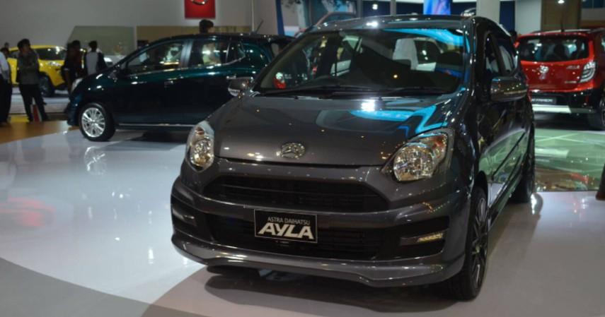 Daihatsu Ayla - Rp 100 jutaan - Yuk Intip Daftar Mobil di Bawah 200 Juta Paling Laris