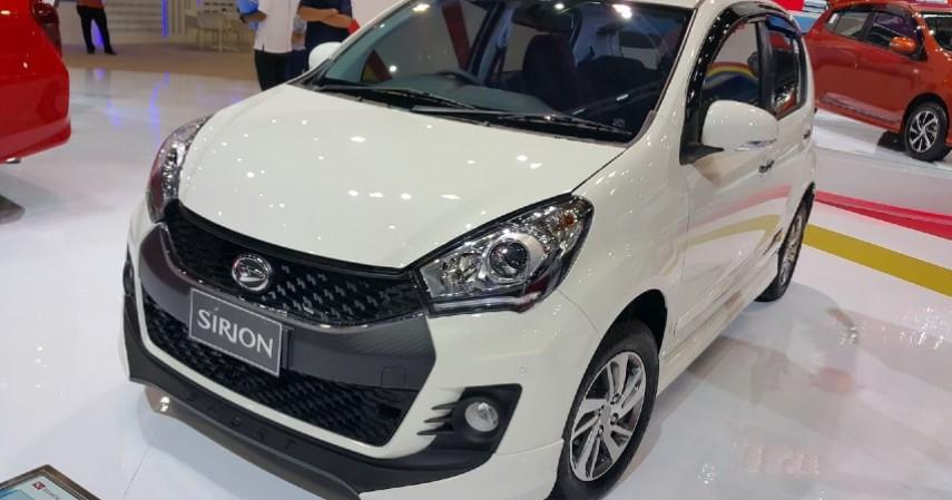 Daihatsu Sirion - Rp 191 jutaan - Yuk Intip Daftar Mobil di Bawah 200 Juta Paling Laris