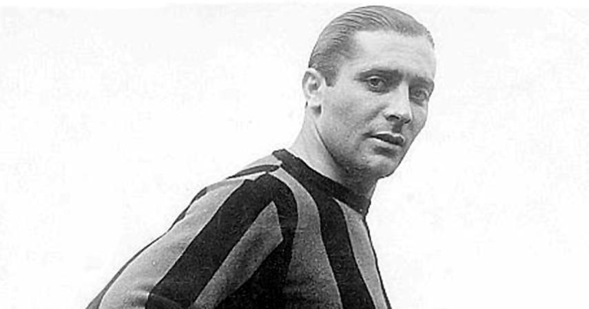 Giuseppe Meazza - Inter Milan ke A.C. Milan 1940 - Inilah Daftar Transfer Pemain Bola Paling Kontroversial