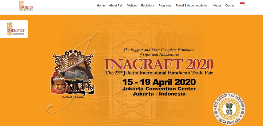 Inacraft - Jadwal Pameran 2020 di Jakarta yang Sayang untuk Dilewatkan