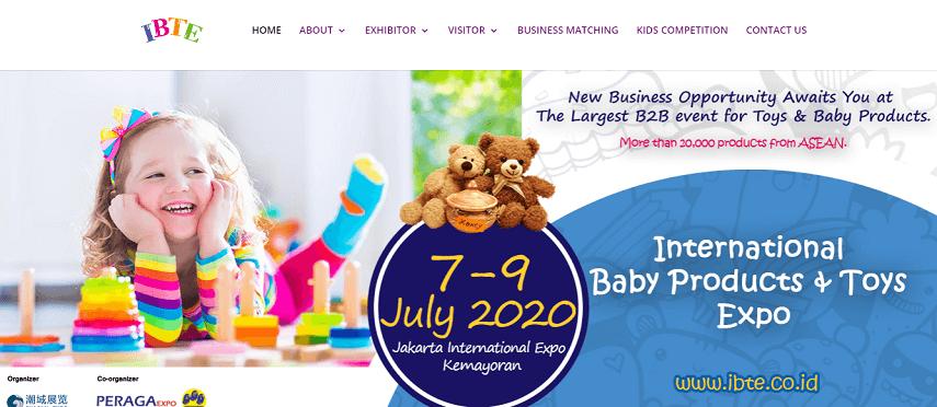 Indonesia International Toys & Kids Expo - Jadwal Pameran 2020 di Jakarta yang Sayang untuk Dilewatkan
