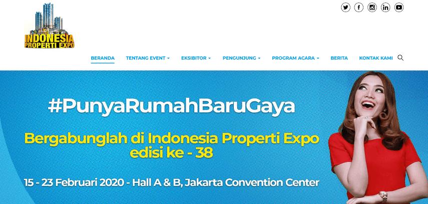 Indonesia Property Expo - Jadwal Pameran 2020 di Jakarta yang Sayang untuk Dilewatkan