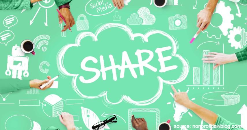 Jangan takut sharing - Bisnis Videografi 6 Langkah yang Bisa Kamu Terapkan Biar Sukses