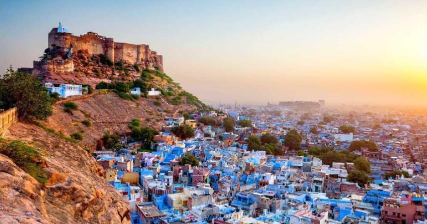 Jodhpur India - 10 Destinasi Wisata Dunia yang Bakal Jadi Tren di 2020