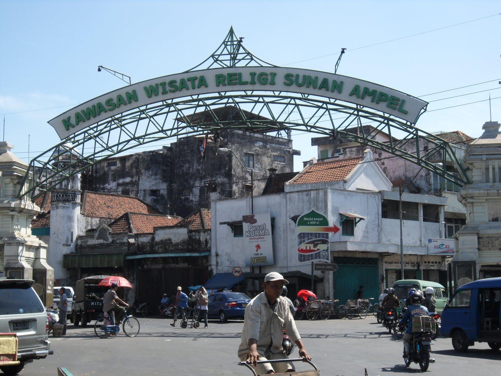 Kampung Arab Ampel - Tujuan Wisata Favorit Dan Gratis Di Surabaya Yang Wajib Kamu Kunjungi